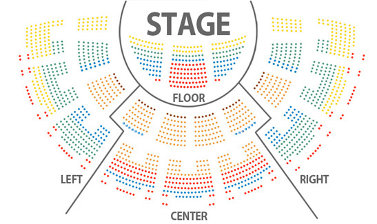 Forum Seating Chart
