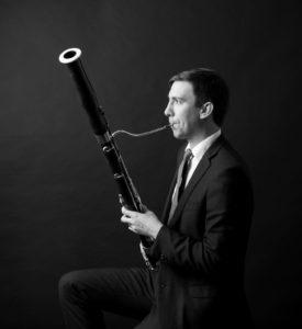 Principal bassoonist Joseph Grimmer