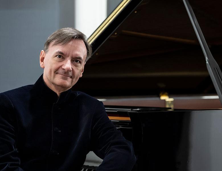 Internationally renowned British pianist, Stephen Hough